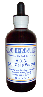 A.C.S. [All Cells Salt] Capsules 100 count