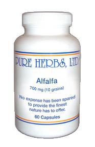 Alfalfa Capsules 100 ct.