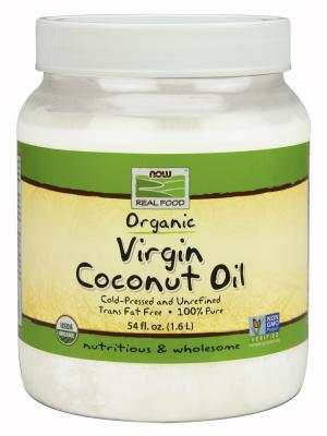 Coconut Oil - Organic, Unrefined, Cold-Press, 100% Pure