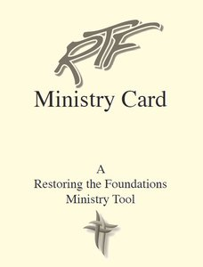 Laminated Ministry Cards